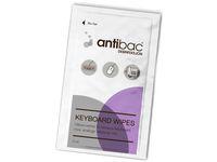 ANTIBAC Rens ANTIBAC tastatur våtservietter (80)   Advania