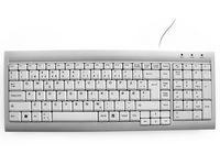 Office Management Tastatur KENSON SpaceSaver norsk sølv